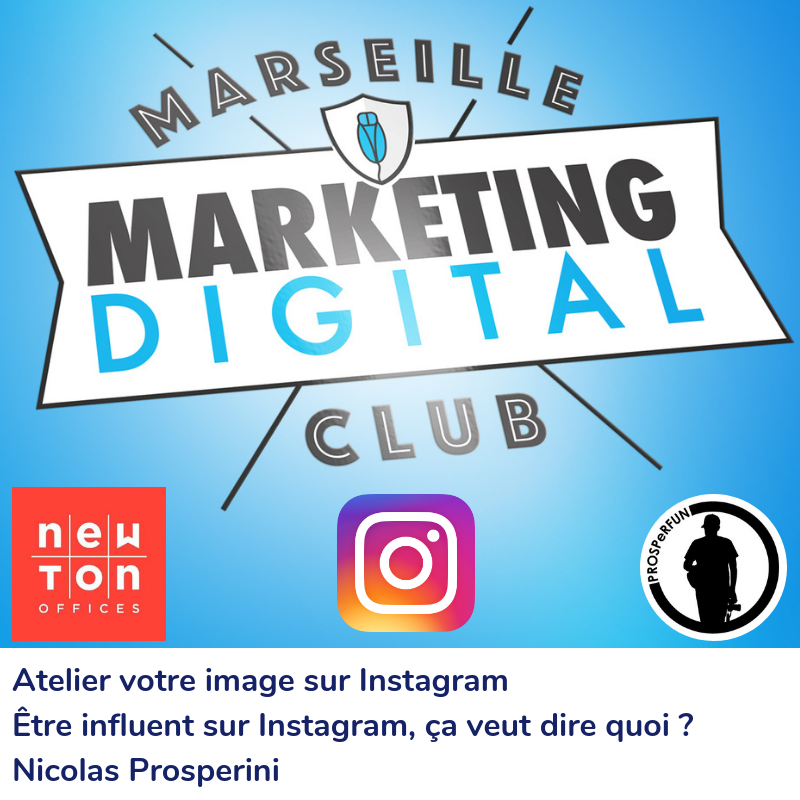 Atelier votre image sur Instagram avec Nicolas PROSPERINI