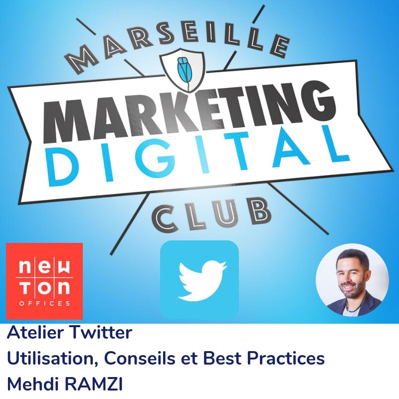 Atelier Twitter - Utilisation, conseils et best-practices avec Mehdi RAMZI