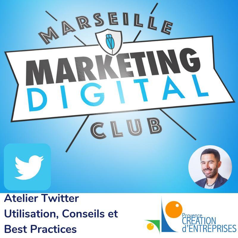 Atelier Twitter Marseille