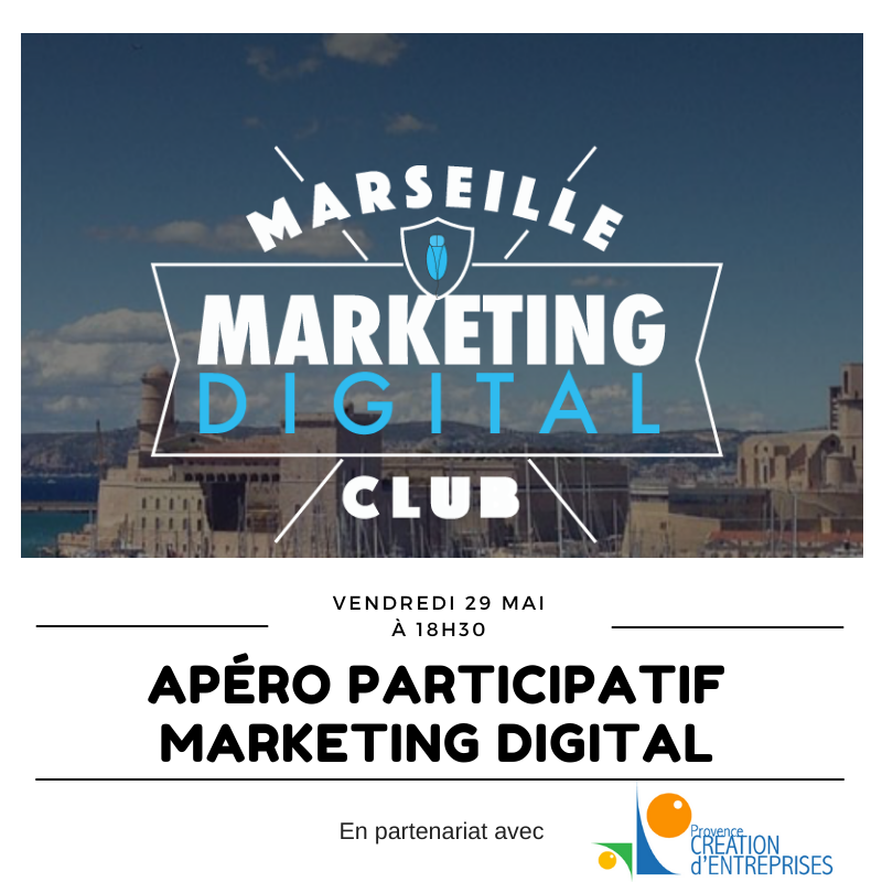 APÉRO MARKETING DIGITAL PARTICIPATIF