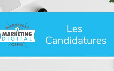 Les Candidatures AG 2020