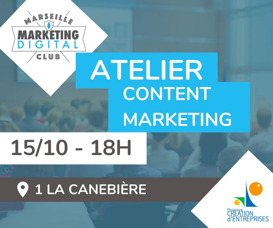 Atelier Content Marketing